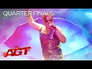 """Johnny Showcase Performs Playful Original, """"The Octopus"""" - America's Got Talent 2021"""