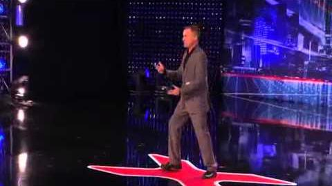America's Got Talent 2013 Audition - Jim Meskiman Impressions of Robert De Niro and Robin Williams