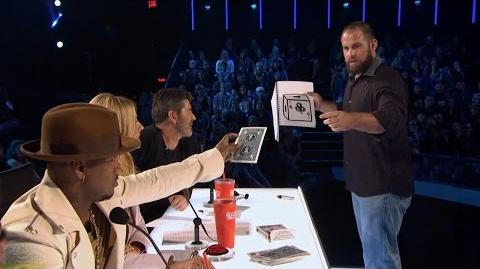 America's Got Talent 2017 Jon Dorenbos Philly Eagle Magician Full Judge Cuts Clip S11E08