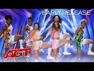 Early Release- Shuffolution Brings Their BEST Dance Moves to AGT! - America's Got Talent 2021