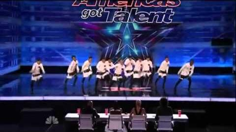 America's Got Talent 2015 The Squad Auditions 4