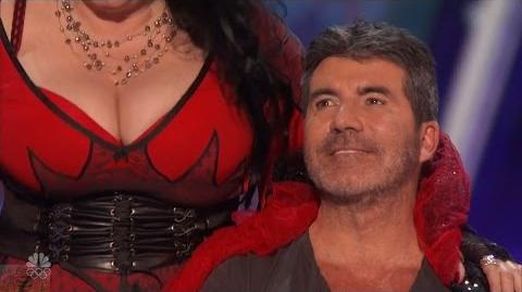 America's Got Talent 2016 Miranda Cunha More Than a Dance For Simon Cowell Full Audition Clip S11E03