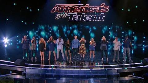 America's Got Talent 2016 One Voice Acapella Group Quick Full Judge Cuts Clip S11E09