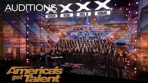 Angel City Chorale Massive Choir Makes It Rain With 'Africa' - America's Got Talent 2018