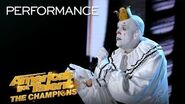 """Puddles Pity Party Performs """"I Want To Know What Love Is"""" - America's Got Talent The Champions"""