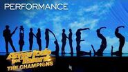 The Silhouettes Might Make You Cry With This Emotional Act - America's Got Talent The Champions