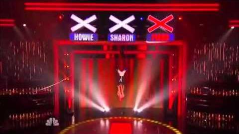 Duo Aero - America's Got Talent - Hollywood Live