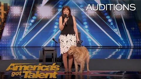 Oscar & Pam Singing Dog Wins America's Heart - America's Got Talent 2018
