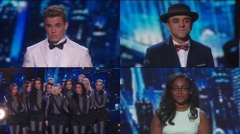 America's Got Talent 2015 S10E18 Live Show Round 2 Results 1