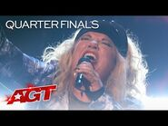 """Anica Sings an AWESOME Rendition of """"River"""" by Bishop Briggs - America's Got Talent 2021"""