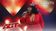 """Carmen Carter Puts An INCREDIBLE Spin On """"Come Together"""" by The Beatles - America's Got Talent 2019"""