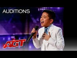"""10-Year-Old Peter Rosalita SHOCKS The Judges With """"All By Myself"""" - America's Got Talent 2021"""
