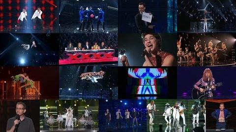 America's Got Talent 2015 S10E13 Judge Cuts - Round 4 Winners Moving on the The Semis