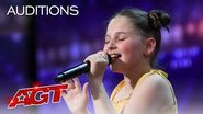 "12-Year-Old Annie Jones Sings ""Dance Monkey"" by Tones and I - America's Got Talent 2020"