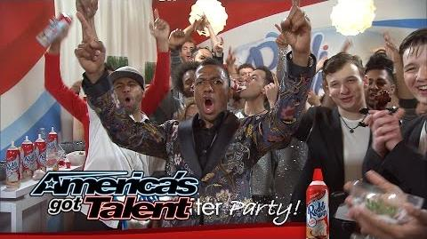Reddi-Wip After Party Fun with Grandpa, Quintavious Shows Off and More - America's Got Talent 2014
