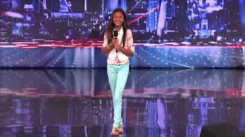 America's Got Talent 2013 Audition - Ciana Pelekani Something's Got a Hold On Me cover new