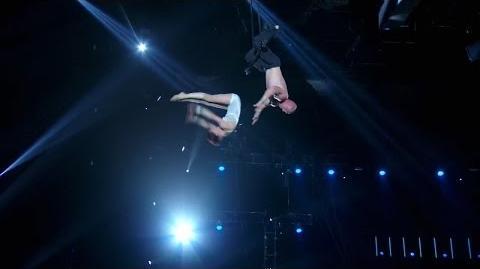 America's Got Talent 2015 S10E13 Judge Cuts - Duo Volta Aerial Acrobats