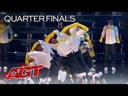 ChapKidz Delivers INCREDIBLE Dance on AGT - America's Got Talent 2021-2