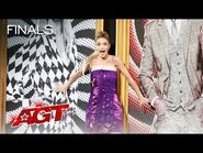 Léa Kyle SURPRISES The Judges With Incredible Quick-Change - America's Got Talent 2021