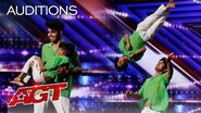 WOW! Shakir & Rihan Deliver Amazing Dance Moves! - America's Got Talent 2020