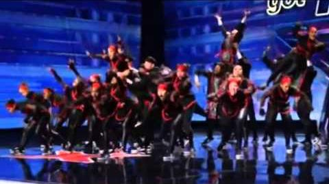 America's Got Talent 2015 Chapkis Dance Family Auditions 1