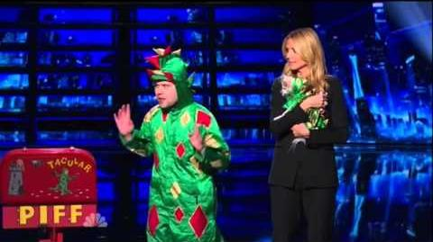 America's Got Talent 2015 Piff The Magic Dragon Judges Cuts Weeks 1