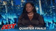 Shaquira McGrath Country Singer WOWS The Judges In The Quarterfinals