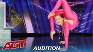 Emerald Gordon Wulf Teen Contortionist With Most FLEXIBLE Body Ever!