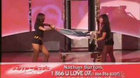 America's Got Talent - Nathan Burton 1