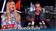 Max Major Mentalist BLOWS The Judges Away on @America's Got Talent Judge Cuts