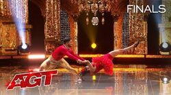 AMAZING! BAD Salsa Spins FASTER Than EVER Before! - America's Got Talent 2020