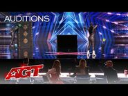 Mother and Daughter Danger Duo FRIGHTENS the Judges - America's Got Talent 2021