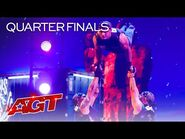 Rialcris Performs AMAZING Hand Balancing on AGT - America's Got Talent 2021