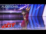 Contortionist Dflex SHOCKS The Judges With His Best Contortion - America's Got Talent 2021