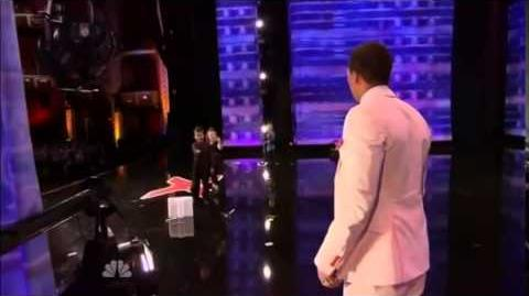 America's Got Talent 2014 Dom The Bom's Triple Theat Auditions 2