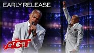 Wrongly-Incarcerated Singer Archie Williams Delivers Unforgettable Song - America's Got Talent 2020
