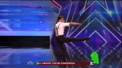America's Got Talent 2015 Aaron Smyth Auditions 7