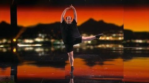 America's Got Talent 2016 Erik Cavanaugh Full Size Male Ballet Dancer Full Judge Cuts Clip S11E09