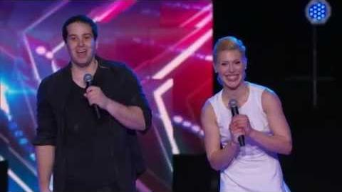 America's Got Talent S09E09 Semi-Final Acrobatic Acts Richard and Ashlee