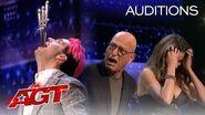 The AGT Judges Pull Swords out of Brett Loudermilk?! - America's Got Talent 2020