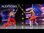 Temple London Brings EPIC Martial Arts to AGT - America's Got Talent 2021