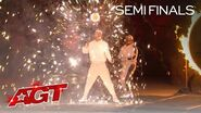 Spyros Bros Delivers an EPIC Performance With GLOWING Diabolos! - America's Got Talent 2020