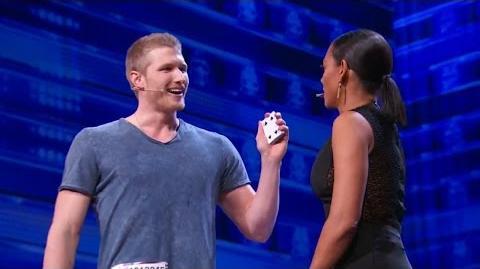 America's Got Talent 2015 S10E03 Michael John Street Magic Act