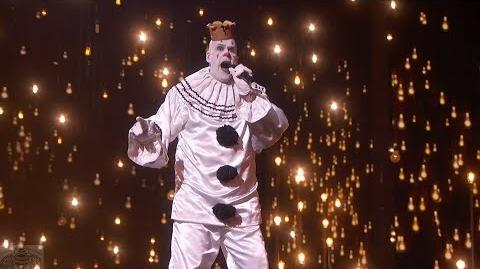 America's Got Talent 2017 Puddles Pity Party Performance & Comments Live Shows S12E13