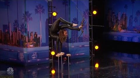 America's Got Talent 2016 Sophi Dossi 14 Y.O