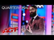 Peter Antoniou Shocks The Judges With His Psychic Abilities - America's Got Talent 2021