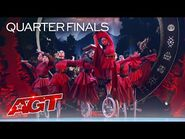UniCircle Flow Delivers an ASTONISHING Unicycle Act - America's Got Talent 2021