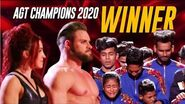 ...AND THE WINNER OF @America's Got Talent Champions 2020 is...