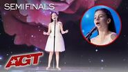 10-Year-Old Opera Singer Emanne Beasha Will SHOCK YOU With Her Voice! - America's Got Talent 2019