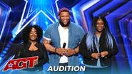 """Resound Amazing Siging Trio Gets STANDING OVEATION From Simon Cowell """"What The World Needs Now"""""""